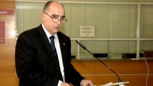 Francesc Xavier Grau va ser el rector de la URV entre 2006 i 2014.