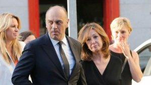 Imagen de archivo de Ana Rosa Quintana junto a su marido, Juan Muñoz