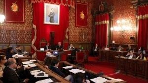Imatge d'arxiu del ple de l'Ajuntament de Tarragona.