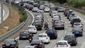 Imatge d'arxiu d'unes retencions a les carreteres catalanes