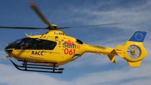 Imatge de l'helicòpter del SEM.