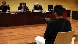 Imatge del judici a l'Audiència de Girona