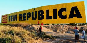 Imatge del mural de Bellpuig