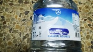Imatge d'una garrafa d'aigua de Condis