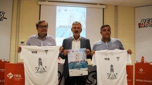 Imatge durant la presentació del XXIX Campionat d'Espanya de Natació Master