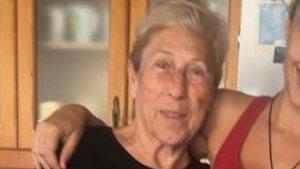 Imatge recent de la dona desapareguda a Cambrils aquest matí.