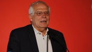 Josep Borell ha evitat parlar sobre la posició de la Fiscalia sobre els presos independentistes