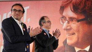 Josep Rull i Jordi Turull donen suport a Puigdemont i a la 'Crida Nacional'