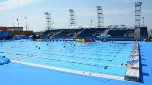 La piscina de l'Anella Mediterràni s'obrirà al públic.