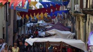 La recreació històrica de Móra d'Ebre va acabar amb un èxit d'afluència.