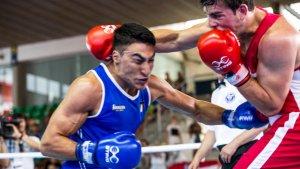 Les imatges de la final de boxa als Jocs Mediterranis