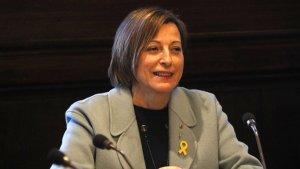 L'expresidenta del Parlament Carme Forcadell en una imatge d'arxiu