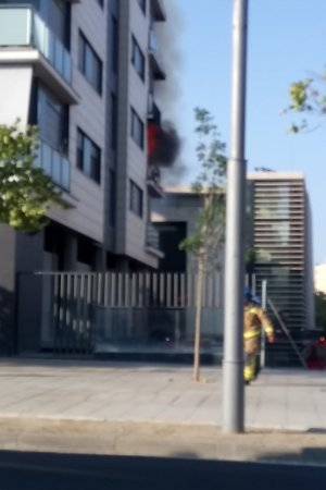 L'incendi s'ha registrat aquest dijous a la tarda al barri de Cappont de Lleida.