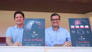 Lluís Fàbregas i Josep Maria Andreu Solé han presentat la nova campanya d'abonaments 'Tu ets el Nàstic'