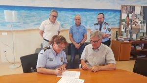 Maite Tovar pren possessió del càrrec de sergent