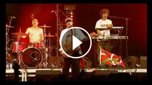 Manu Chao durant un concert