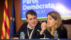Marta Pascal i  David Bonvehí en una imatge d'arxiu