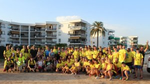 Més de cent caminadors participen a la XV Caminada Popular