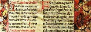 Part del Missal de Santa Eulàlia (1401-1405)