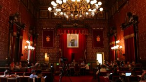 Ple de l'Ajuntament de Tarragona de juliol