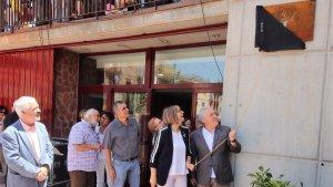 Prades inaugura la plaça dels Arbres