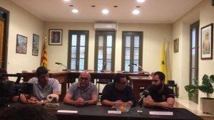 Sorteig de la diada de la Festa Major de la Granada celebrat aquest dilluns