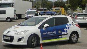 Un cotxe de la policia local del Vendrell.