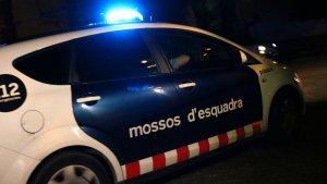 Un cotxe dels Mossos d'Esquadra, en una imatge d'arxiu.