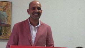 Valeriano Pino, a l'assemblea d'aquest dissabte.