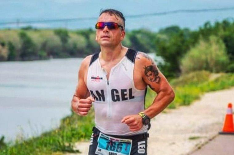 Ángel Blanco es prepara per l'Ironman