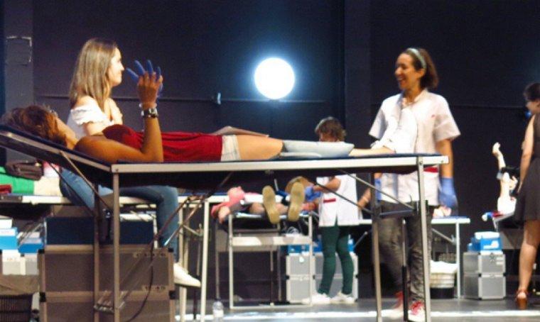 Cada any, Rubí acull una Marató de donació de sang.