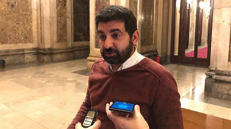 Chakir El Homrani, conseller d'Afers Socials, Treball i Famílies