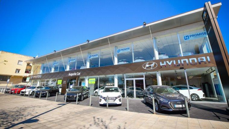 El concessionari oficial de Hyundai a Tarragona, Augusta Car.
