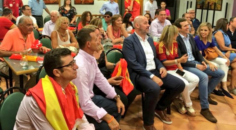 Imatge de Pablo Casado a Lleida
