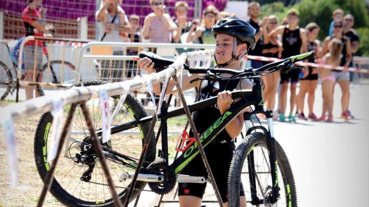 Imatge d'un participant a la competició