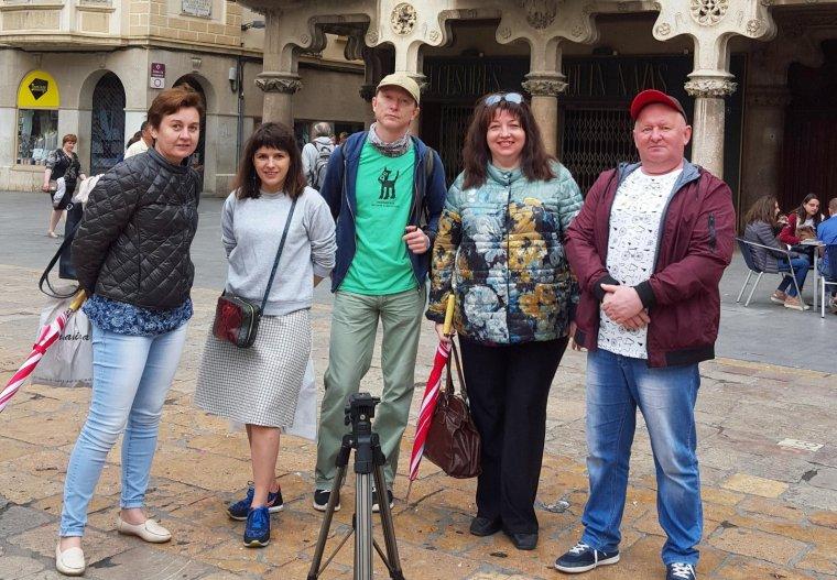Membres d'una de les delegacions que han visitat Reus aquest primer semestre del 2018