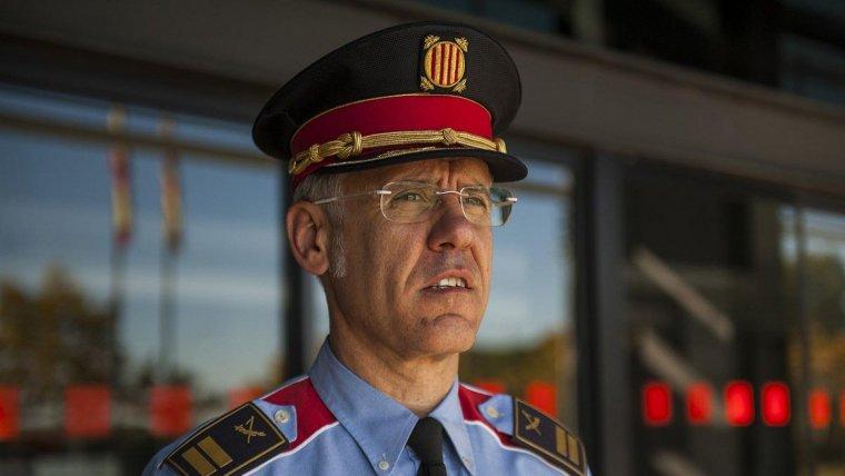 Miquel Esquius, comissari dels Mossos d'Esquadra.