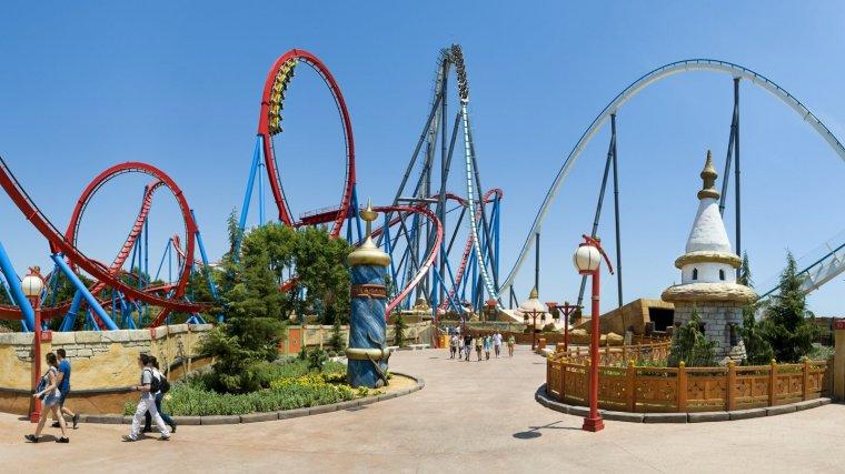 Port Aventura començarà temporada el proper 7 d'abril.