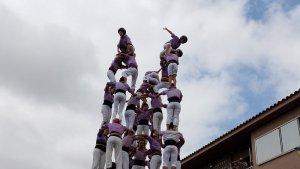 9de8 de la Colla Jove Xiquets de Tarragona a Llorenç del Penedès