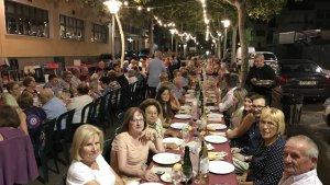 Alguns dels assistents al Sopar de les Estrelles d'enguany.