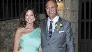 Ana Rosa Quintana y su marido Alfonso Rojo