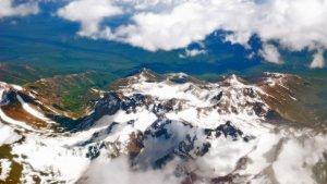Cordillera de Pamir, Tayikistán, donde ocurrió el accidente del helicóptero.