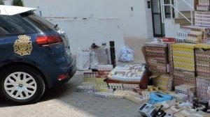 Desmantellat un grup dedicat a la venda de tabac de contraband a Xàtiva