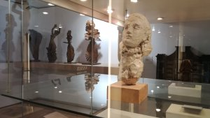 El bust de Dora Maar al museu de la Fundació Apel·les Fenosa