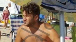 El Prenda en la playa de Rota, en imágenes en exclusiva de 'OKdiario'