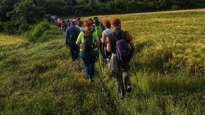 Els participants de la darrera caminada van venir d'arreu de les comarques tarragonines.