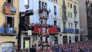 Els Xiquets de Reus han estrenat el 5de8 a la festa major de Gràcia