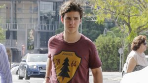 Froilán a su llegada a Sevilla