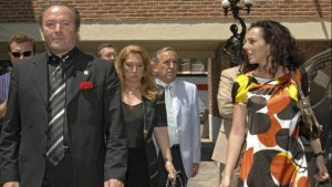 Imagen de archivo de Rocío Carrasco junto a su tío Amador Mohedano