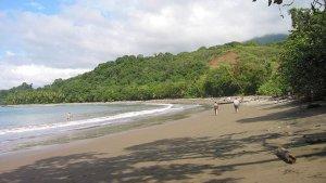 Imagen de una playa en Costa Rica